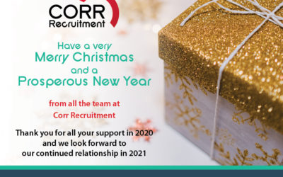 Corr Recruitment's Christmas Message!