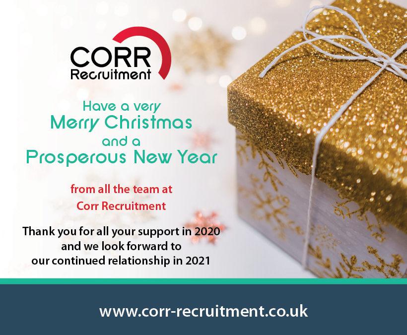 Corr Recruitment's Christmas Message!